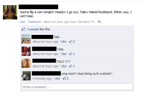 dont friend parents facebook mom status comment Why You Should Never Friend Your Parents On Facebook