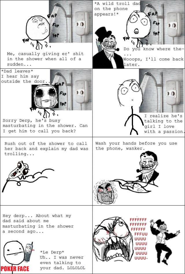 Troll Dad And Girls