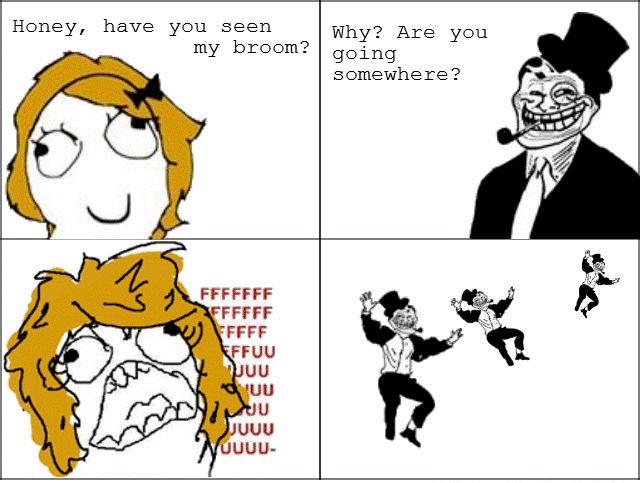 Troll Dad Trolls Mom