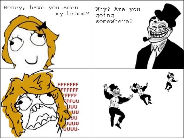 Troll Dad Trolls Mom