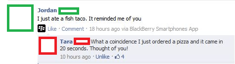 Ex-Girlfriend Burn Facebook
