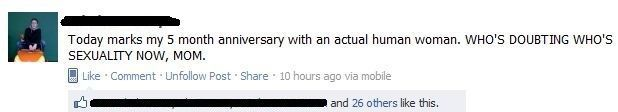 Best Facebook Statuses Take That Mom