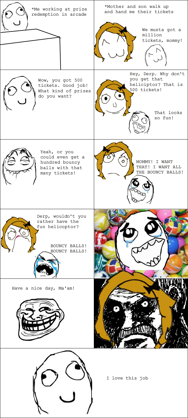 Hilarious Rage Comics Trolling Parents
