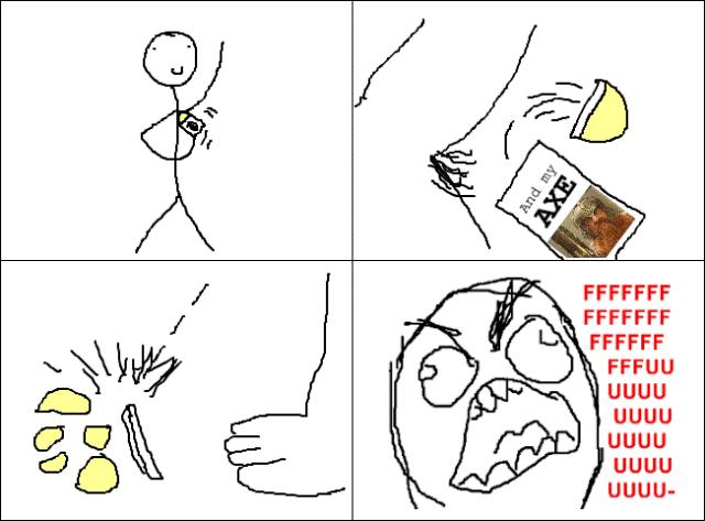 Rage Comics Deodorant Rage