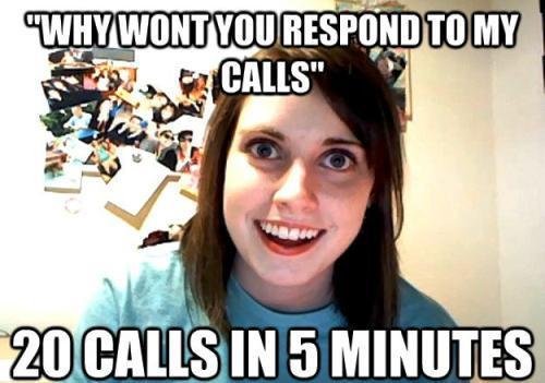 Attached Girlfriend Meme Calls Repeatedly