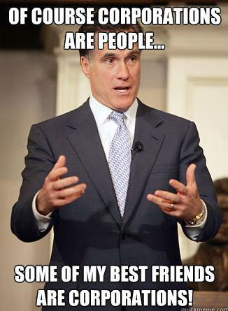Relatable Romney Corporations