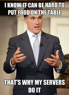 Relatable Mitt Romney Food