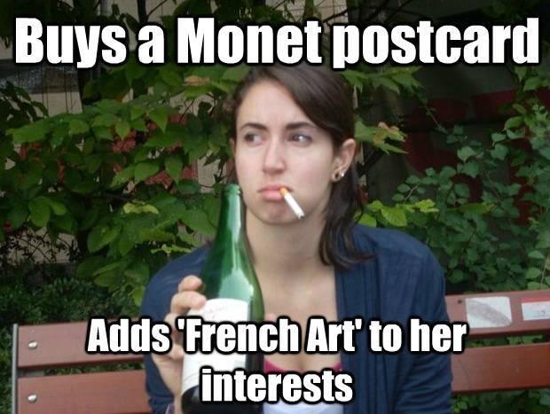 Study Abroad Meme Art