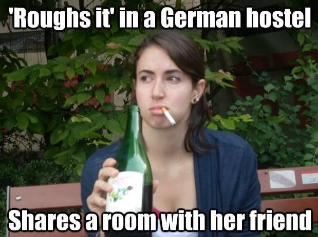 Exchange Student Bitch hostel