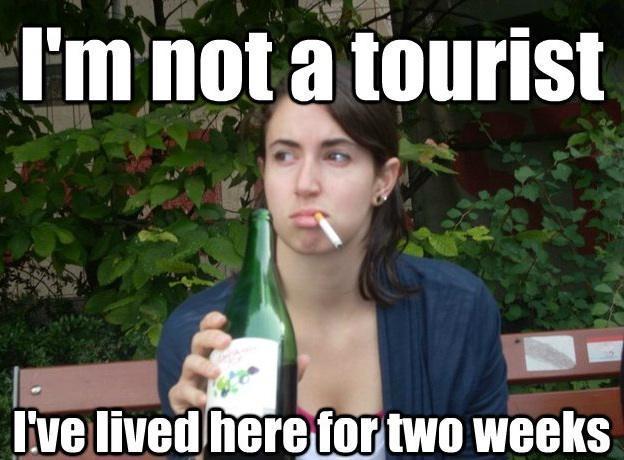 Study Abroad Bitch tourist