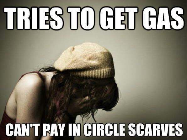 Trendy Girl Problems circle-scarves