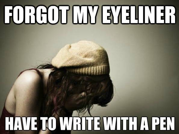 Trendy Girl Problems eyeliner