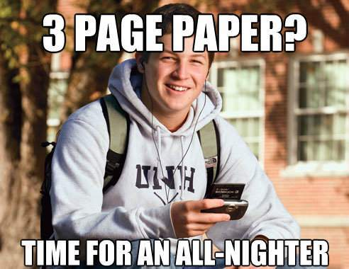 Freshman All-Nighter