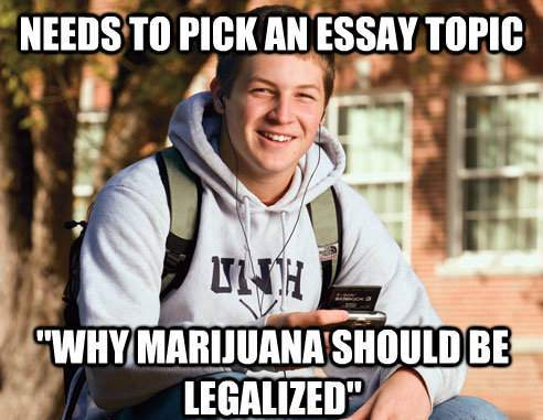 College Freshman Memes Selects An Essay Topic