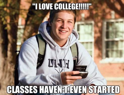 I Love College!