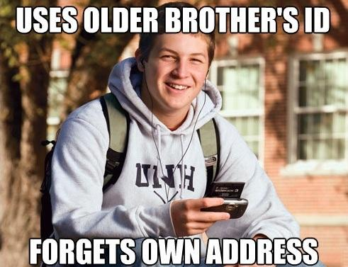 Brothers ID Best College Freshman Memes