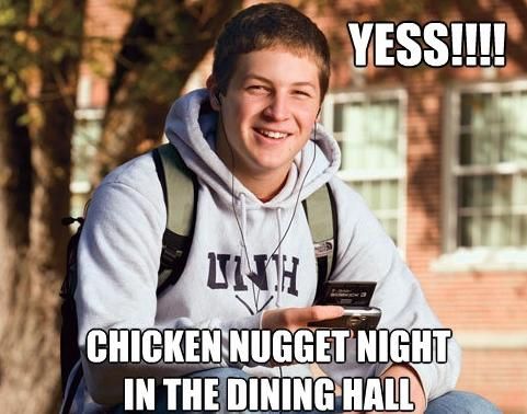 Chicken Nugget Night
