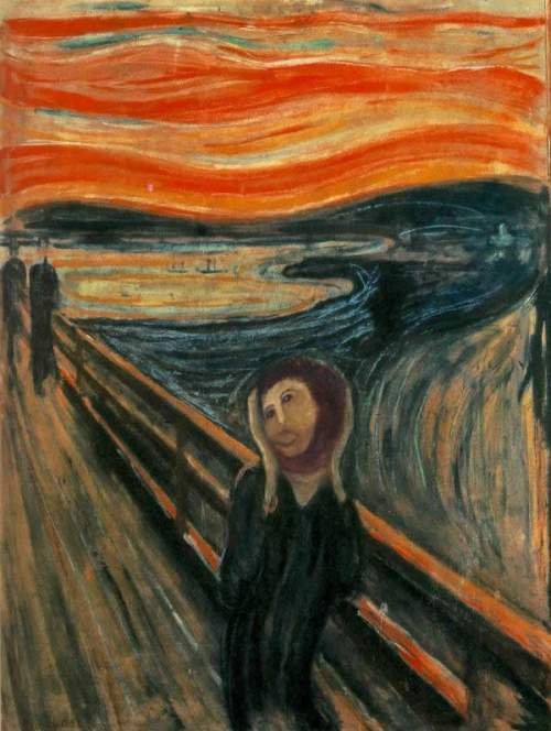 Restoration Of The Scream