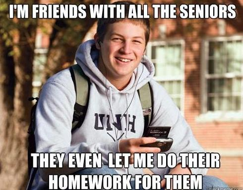 Friends With The Seniors