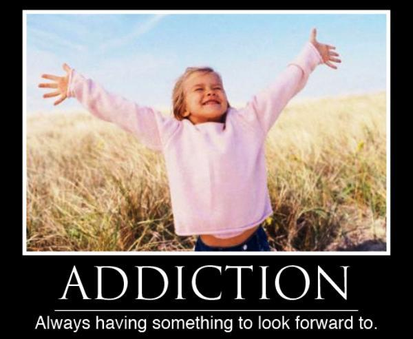 Funny Poster About Addiction