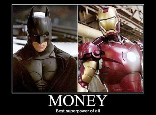Funny Demotivational Poster About Money