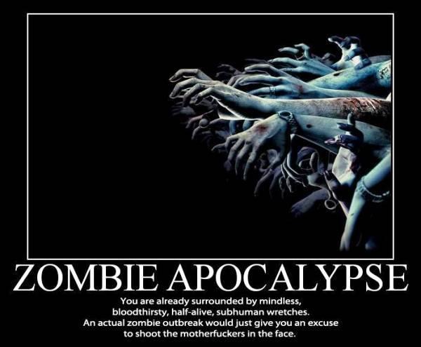 The Zombie Apocalypse Poster