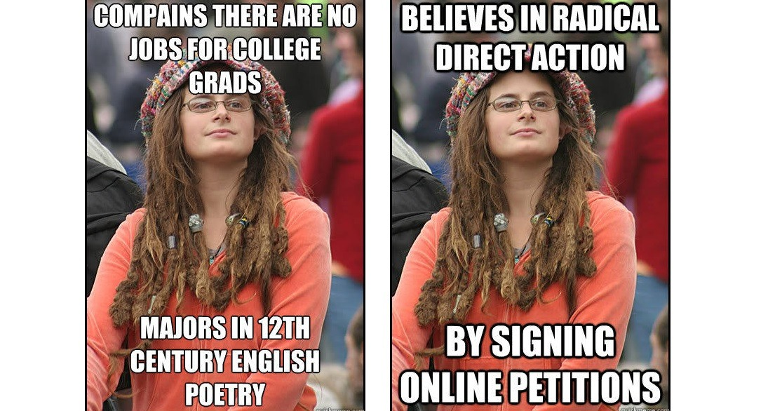 Memes About College Liberals