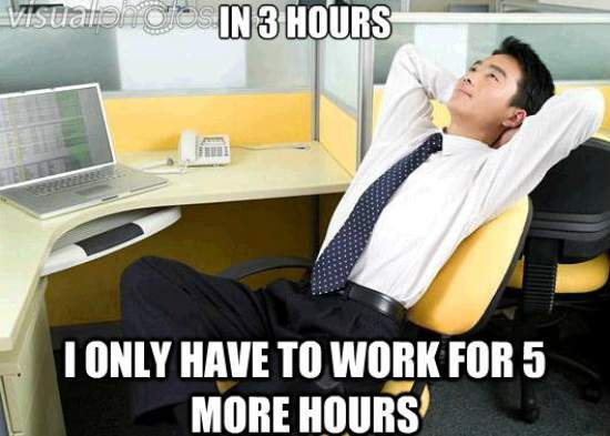 Work Thoughts Meme 3 Hours