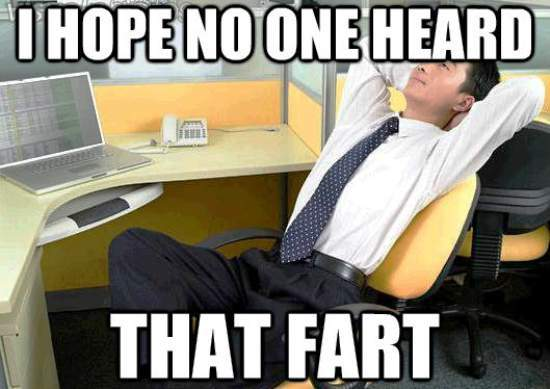 office thoughts meme fart1 The Weekly Round Up