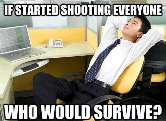 Work Thoughts Meme Survive