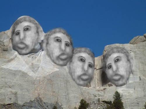 Mount Rushmore Ecce Homo Restoration