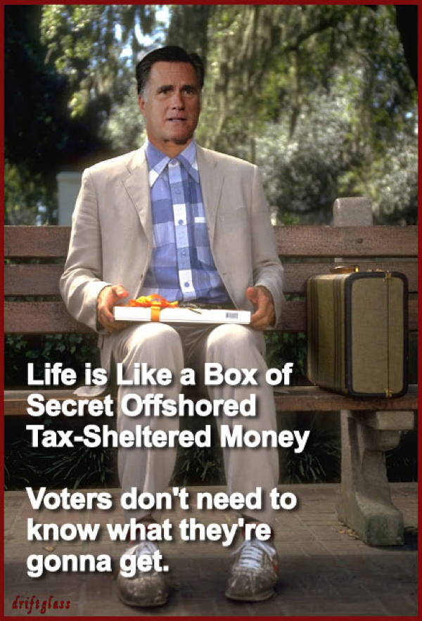 romney gump The Weekly Round Up