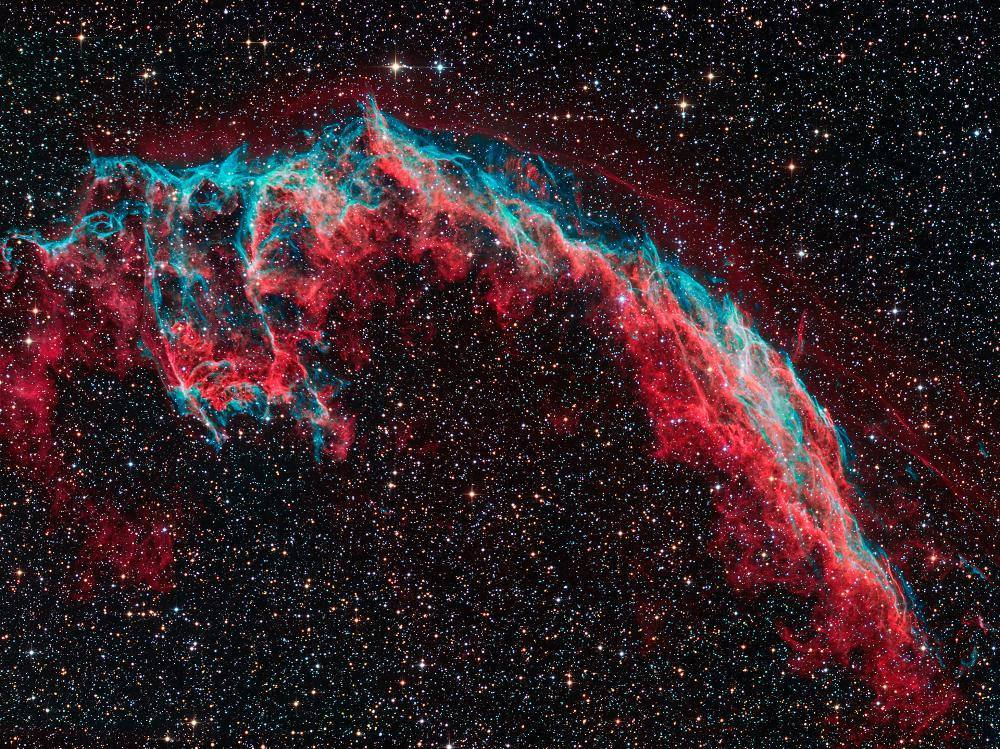 veil nebula photograph The Weekly Round Up