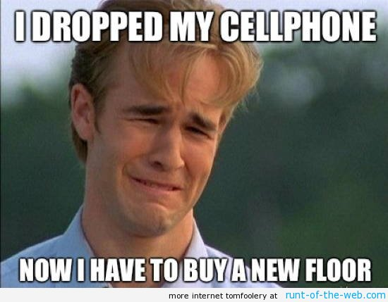 90s Problems Cell Phone