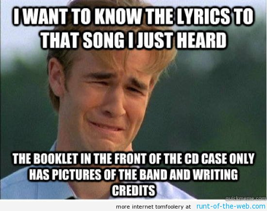 90's Problems Meme Lyrics