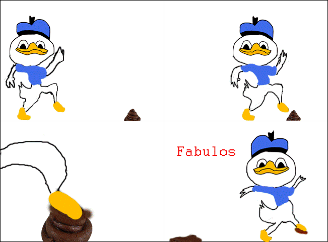 Dolan Comic Poo Foot