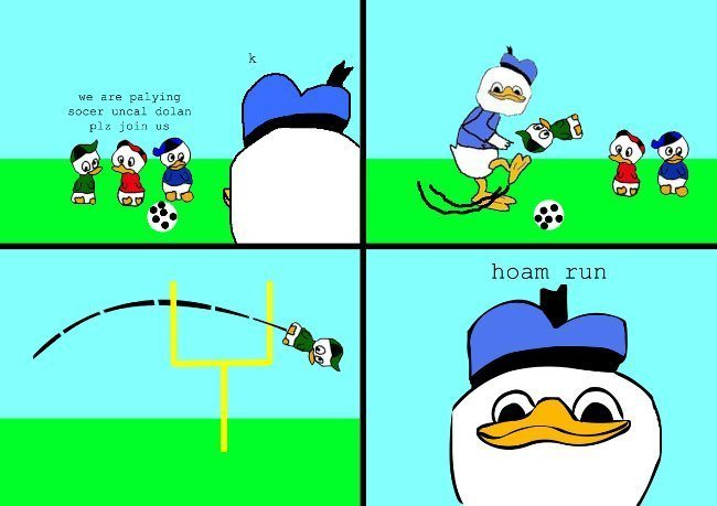Dolan Comics Plays Sports