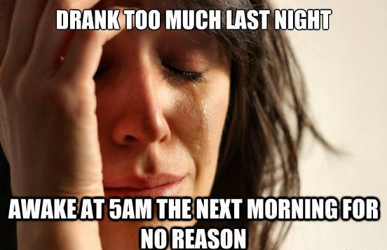 Hangover Problems