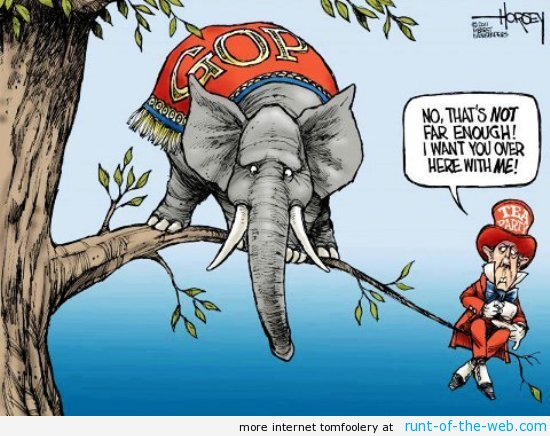 GOP Tea Party Comic