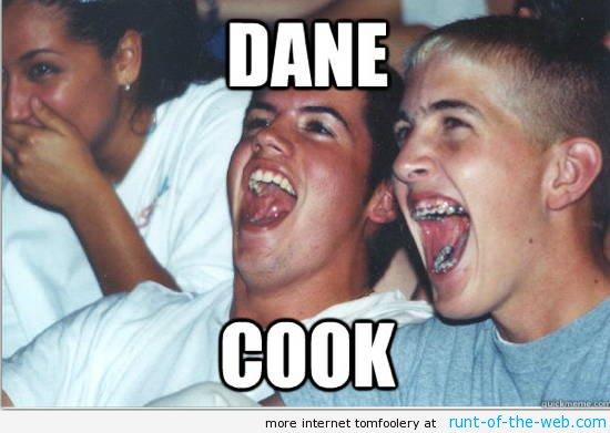 Immature High Schooler Dane Cook