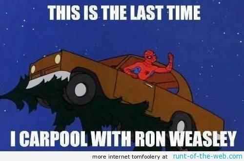 Spider-Man Meme Ron Weasley