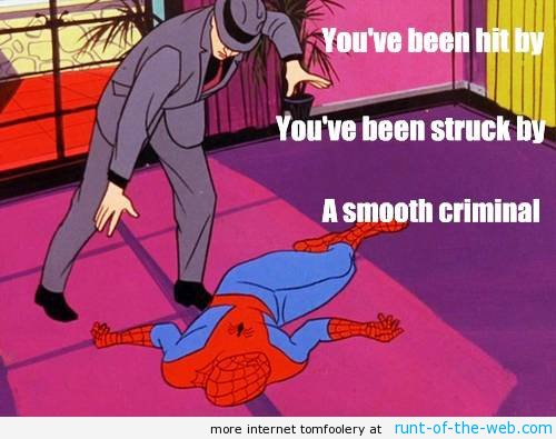 Spider-Man Memes Smooth Criminal