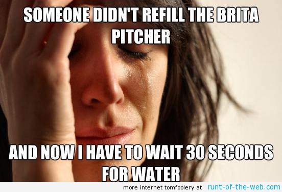 Refilling The Brita PItcher