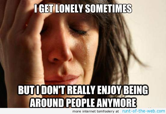 Don't Enjoy Being Around People