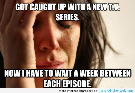 Caught Up On Television Episodes