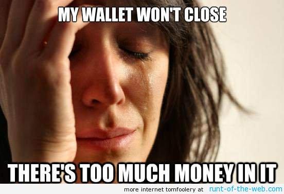 My Wallet Won't Close