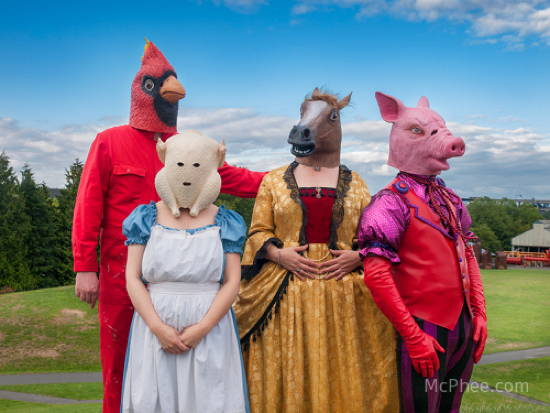 Awkward Halloween Farm Animals
