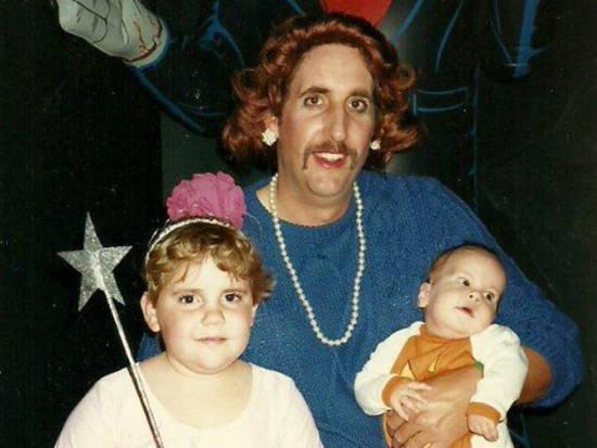 Awkward Halloween Dad