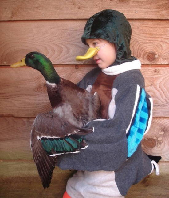 Awkward Halloween Duck