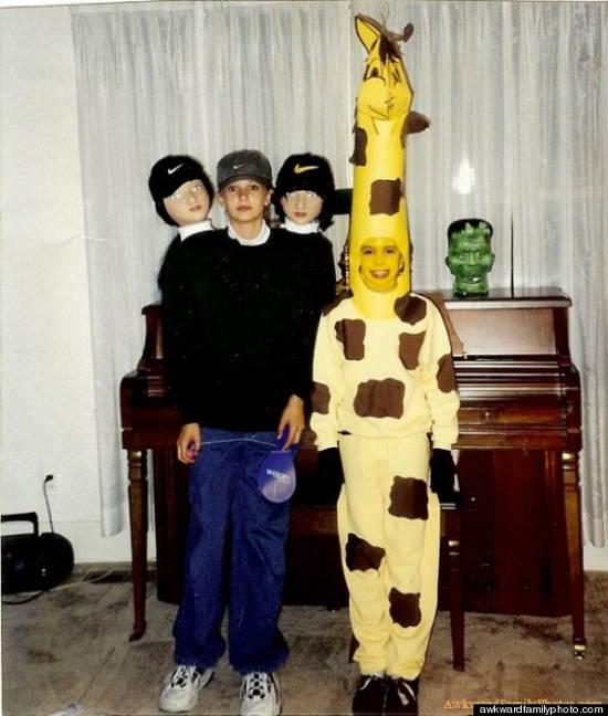 Awkward Halloween Giraffes